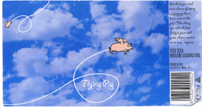 Flying pig label. http://services.exeter.ac.uk/cmit/modules/student-work/ortrun-wine-labels.pdf