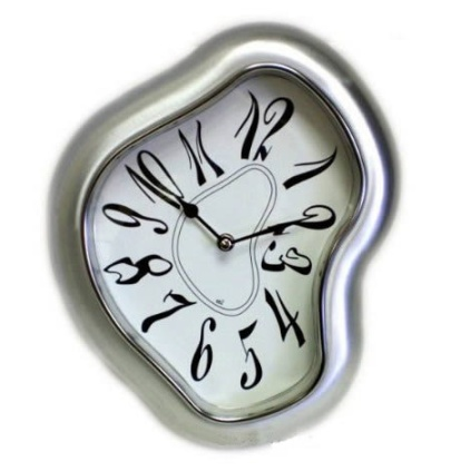Perception of time is subjective, elastic, and variable. Image: tingilinde.typepad.com