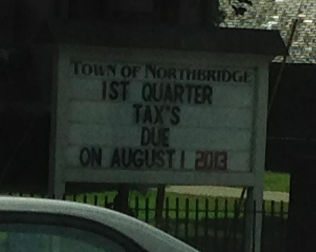 tax's