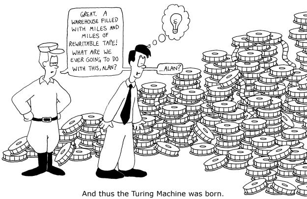 Image: http://www.cs.utah.edu/~draperg/cartoons/2005/turing.html